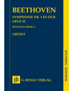 Beethoven: Symphonie nr. 3 Es-dur / Symphony no. 3 E flat major, op. 55 (Sinfonia Eroica) (Study Score)