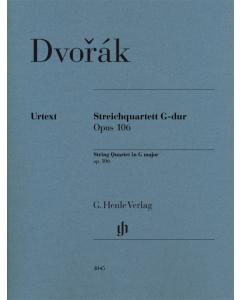 Dvorak: String Quartet in G major, op. 106 (Set of Parts)