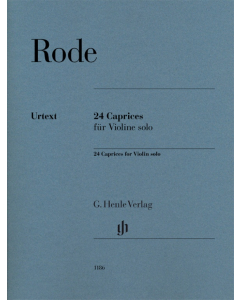 Rode: 24 Caprices for Violin solo