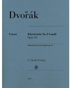 Dvorak: Piano Trio no. 3 f minor, op. 65 (Set of Parts)