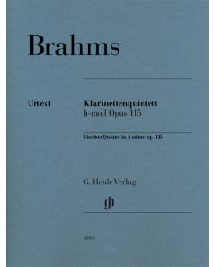 Brahms: Klarinettenquintett h-moll, op. 115 / Clarinet Quintet in b minor, op. 115