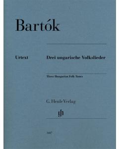 Bartók: Three Hungarian Folk Tunes (Piano)