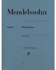 Mendelssohn: Klaviertrios / Piano Trios