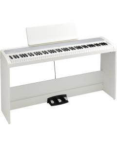 KORG B2-SP Digital Piano (Hvid, inkl. stativ og 3-pedal)