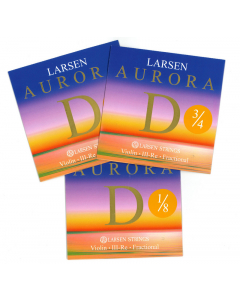 Larsen Aurora D-streng til små violiner