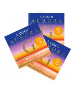 Larsen Aurora G-streng til små violiner