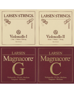 Larsen Set Cello G+C Magnacore