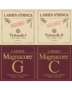 Larsen Soloist's Edition  Set Cello G+C Magnacore