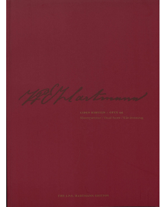 Hartmann, J.P.E.: Liden Kirsten (Klaverpartitur / Vocal Score)
