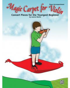 Magic Carpet for Violin - Piano Accompaniment (Joanne Martin)