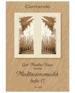 Meditasjonsmusikk, hefte 17 (for Orgel)