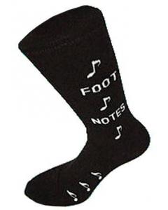 """Musikstrømper """"Foot Notes"""" (One Size UK 6-11)"""