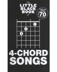 The Little Black Book of 4-Chord Songs