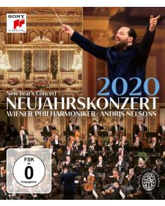 Neujahrskonzert 2020 / New Year's Concert 2020 (Andris Nelsons, Wiener Philharmoniker) (BLU-RAY)