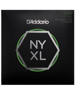 D'addario NYXL1156 - Guitarstrenge til El-Guitar (sæt)
