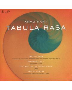 Arvo Pärt: Tabula Rasa (2LP / Double Vinyl)