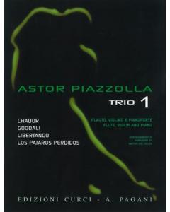 Astor Piazzolla for Trio, Volume 1 (Flute, Violin and Piano)
