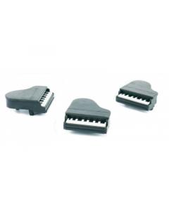 3D klaver viskelæder (1 stk.)
