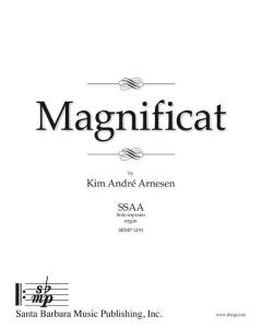 Arnesen, Kim André: Magnificat (SSAA, Solo soprano, Organ)