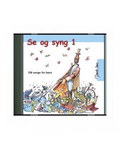 Se og syng 1 - 158 sange for børn (8CD-BOX)