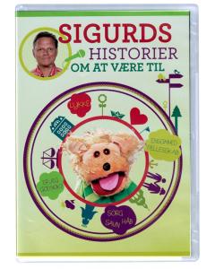 Sigurds historier om at være til (Sigurd Barrett) - DVD
