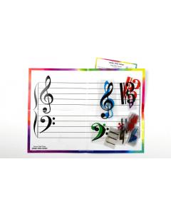 Folding Staff Slate (Music Mind Games)