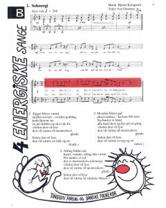 Korsgård, Bjarne: Fire energiske sange (Version B - lige stemmer og klaver)