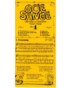 Go'e Sange 1 - tilrettelagt af Ejnar Kampp
