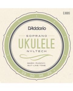 D'addario EJ88S - Strenge til Sopran Ukulele (sæt)