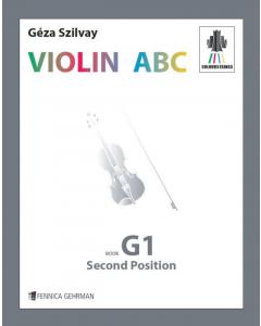 Colourstrings VIOLIN ABC - Book G1, Second Position (Géza Szilvay)