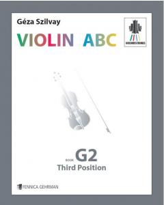 Colourstrings VIOLIN ABC - Book G2, Third Position (Géza Szilvay)