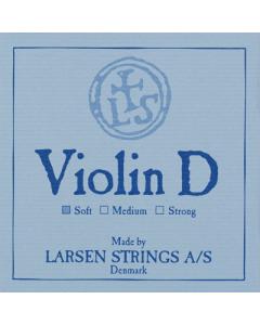 Larsen Violin D Streng SILVER