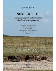 Birch, Søren: Nordisk Suite (SATB, Klaver, Blokfløjte) - KORPARTITUR
