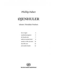 Faber, Phillip: Øjenhuler (SSA a cappella)