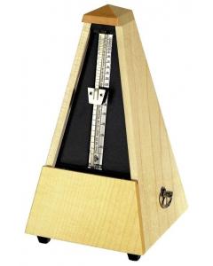 Wittner Metronom - Klassisk pyramideform (Træramme, Mat natur ahorn)