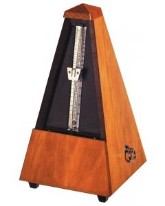 Wittner Metronom - Klassisk pyramideform (Træramme, mat valnød)