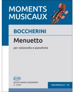 Boccherini, Luigi: Menuetto (Violoncello, Piano)