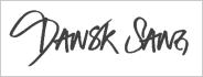 Dansk Sang Logo