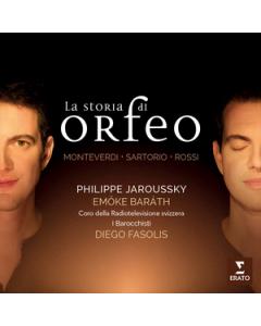 La Storia di Orfeo CD Cover