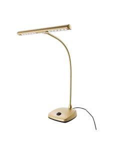 K&M Klaverlampe (Tværgående med LED, Guld)