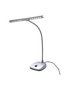 K&M Klaverlampe (Tværgående med LED, Sølv)