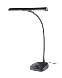 K&M Klaverlampe (Tværgående med LED, Dæmpbar, Sort)