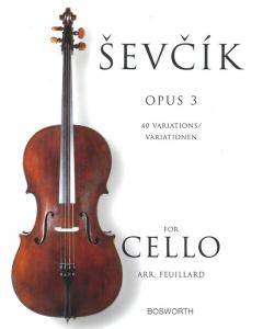 Sevcik Cello 40 variations op. 3