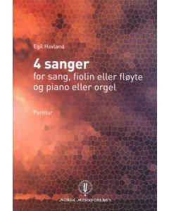 Hovland, Egil: 4 sanger