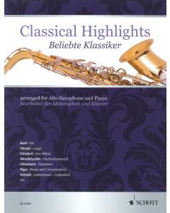 Classical Highlights (Alto Saxophone, Piano)