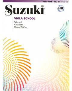Suzuki Viola School Vol. 5 (incl. CD)