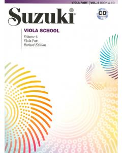 Suzuki Viola School Vol. 6 (incl. CD)