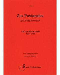 Boismortier: Zes Pastorales / 6 Pastorales (for 2 melody instruments)