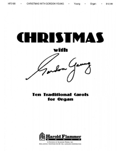 Christmas with Gordon Young Front page