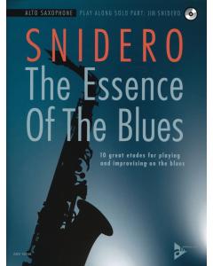 Jim Snidero: The Essence Of The Blues - ALTO SAXOPHONE